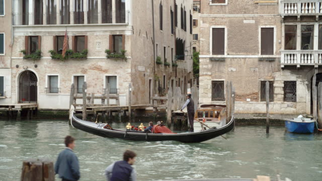 Gondola Ride along the canal / Venice, Italy