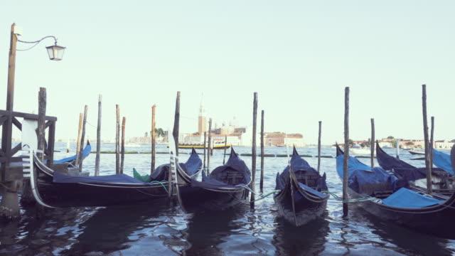 Gondola service boat traditional