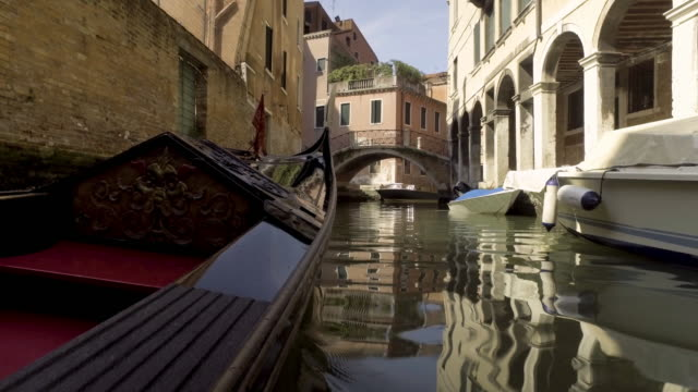 gondola service tourist people travel around venice canal grand - grand canal venice stock videos & royalty-free footage