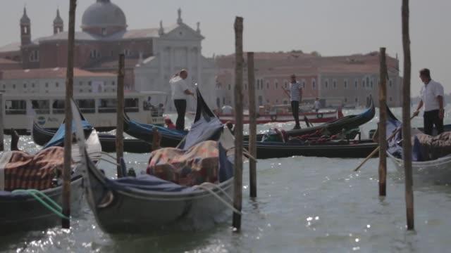Gondolas at Sightings Day 01 69th Venice Film Festival on 8/29/2012 in Venice