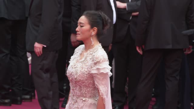 gong li at 'the dead don't die' red carpet arrivals opening ceremony the 72nd cannes film festival on may 14 2019 in cannes france - the dead don't die 2019 film stock videos and b-roll footage