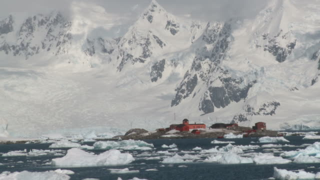 Gonzalez videla, Chilean research station. Waterboat Point, Paradise Bay