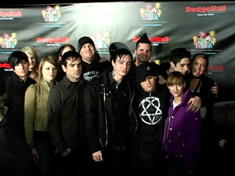 Good Charlotte at the Dodgebal The Celebrity Tournament at Hollywood Palladium in Hollywood California on December 8 2004