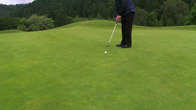 good putt - see other clips from this shoot 1271 stock videos & royalty-free footage