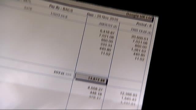 uk google boss matt brittin questioned by mps over tax affairs london close shots of google uk ltd payslip - payslip stock videos & royalty-free footage