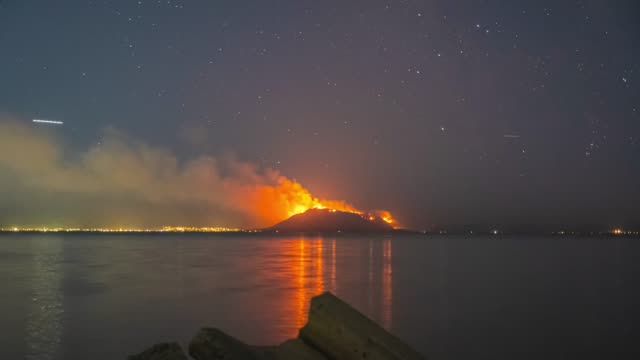 goose point fire time lapse - provo stock videos & royalty-free footage