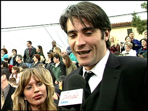 Goran Visnjic at the 2001 Screen Actors Guild SAG Awards arrivals at the Shrine Auditorium in Los Angeles California on March 11 2001