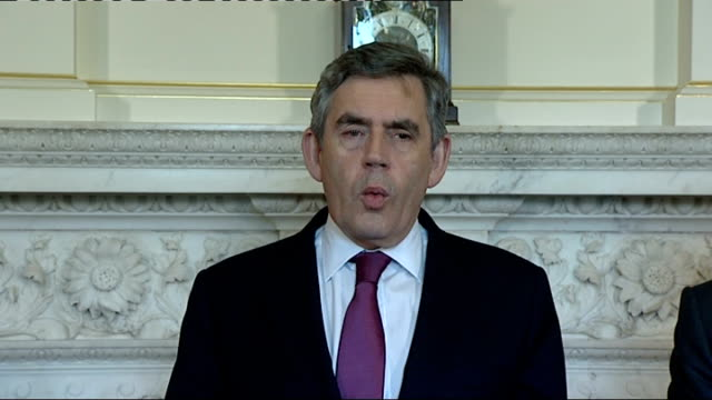 Gordon Brown and Georgian Prime Minister Lado Gurgenidze at No10 / comments on Georgia and Lloyds/HBOS merger Gordon Brown SOT we took decisive...