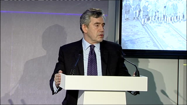 gordon brown apologises to former child migrants brown speech / meeting gordon brown mp speech sot it is with humility that i address you here this... - humility stock videos and b-roll footage