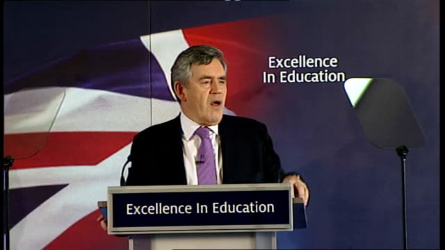 gordon brown education policy speech at woodberry down primary school; - but the vast majority of parents don't want the burden of running their... - performance improvement stock videos & royalty-free footage