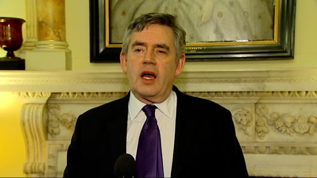gordon brown hosts chinese new year event at downing street gordon brown mp speech sot welcome to downing street / it's really important for us to be... - begriffssymbol stock-videos und b-roll-filmmaterial