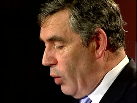 stockvideo's en b-roll-footage met gordon brown launches international health partnership initiative: speech; - we agree as donors to support national healthcare plans and poor... - 40 seconds or greater