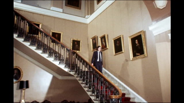 life before westminster exact date unknown 1975 footage int gordon brown as 20 year old down steps of university after being elected rector of the... - after life stock videos & royalty-free footage