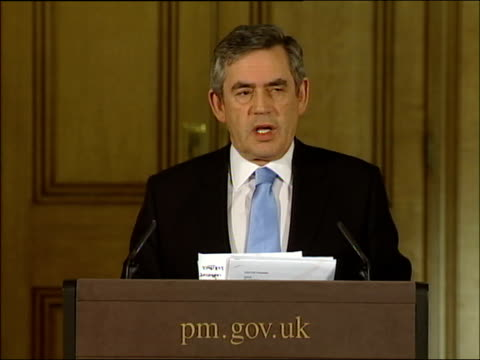 Gordon Brown press conference on why he ruled out a 2007 general election Prime Minister isn't it the case that the decision to want to set out your...