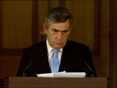 Gordon Brown press conference on why he ruled out a 2007 general election Prime Minister have you been invited to the US sponsored conference in...
