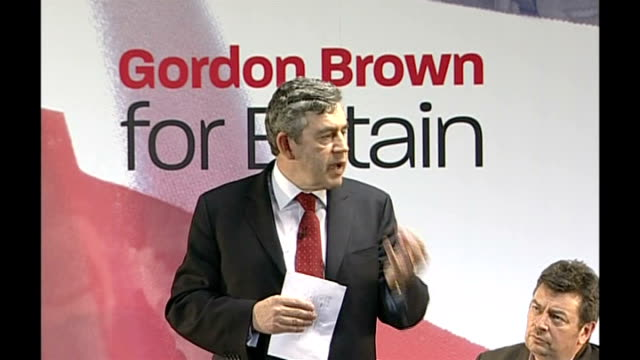 gordon brown speech followed by q&a session; - on problems with the national health service, such as access to gps and mrsa / we can build on the... - staphylococcus aureus stock videos & royalty-free footage