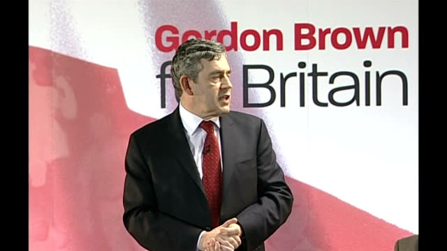 Gordon Brown speech followed by QA session Over the next few years what are our challenges / On the Surestart initiative and improving education for...