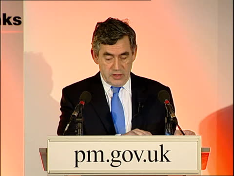 gordon brown speech for community links charity social innovators pioneering new ways of addressing today's social challenges / men and women who... - multimedia stock videos & royalty-free footage