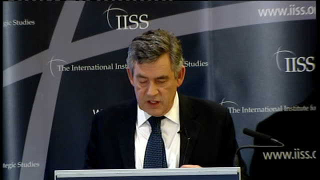 gordon brown speech on afghanistan gordon brown speech continues sot third at the heart of the future for afghanistan with its predominantly village... - plant part stock videos and b-roll footage