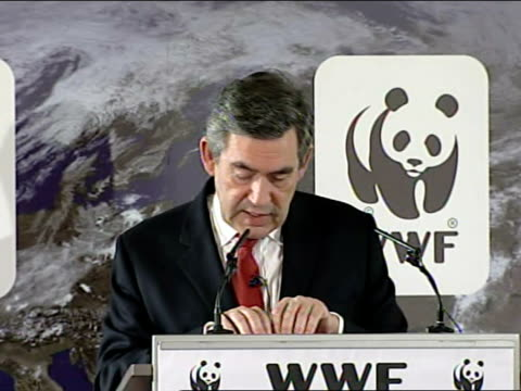 gordon brown speech on climate change; the legislation will enact our target of achieving a reduction in carbon dioxide emissions of at least 60 per... - cut video transition stock videos & royalty-free footage