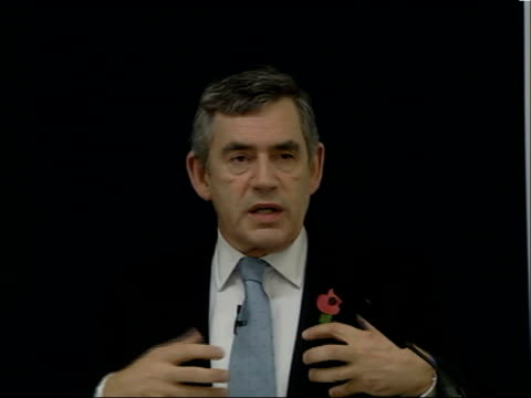 gordon brown speech on education; brown speech sot - so my argument today is that it is time for britain to leave behind, once and for all, this... - performance improvement stock videos & royalty-free footage