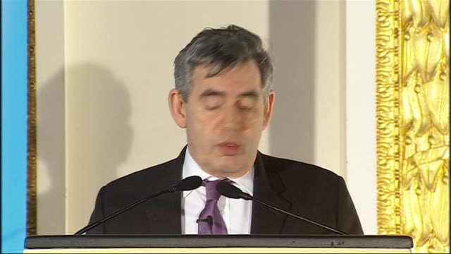 Gordon Brown speech on human rights Gordon Brown speech continued SOT In Britain it is all to easy to take our rights for granted should never forget...