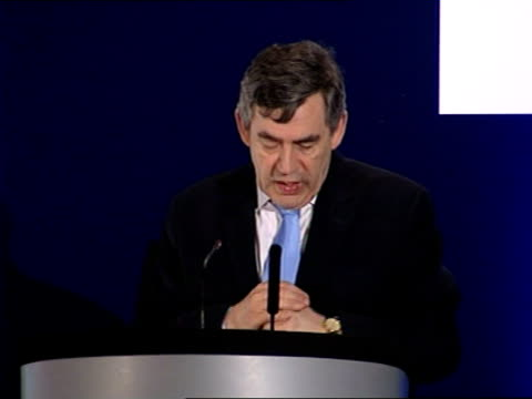 gordon brown speech on policing and prisons and as i have been going round the country i have heard time and again the fears of ordinary people about... - kinderporno stock-videos und b-roll-filmmaterial