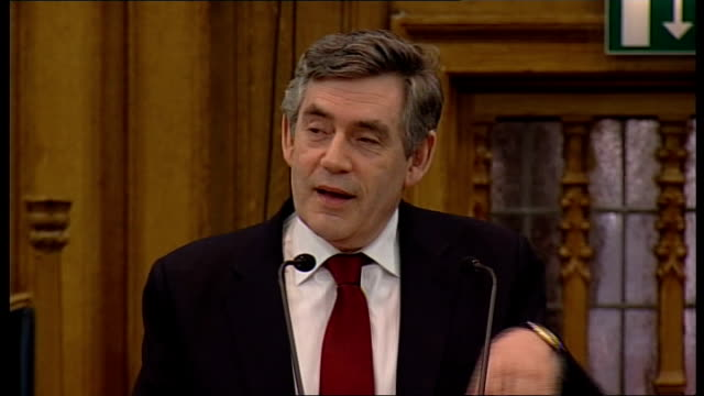 speech Gordon Brown MP speech SOT For me it is a special joy that evokes many happy memories to be invited to address you here this morning / My...