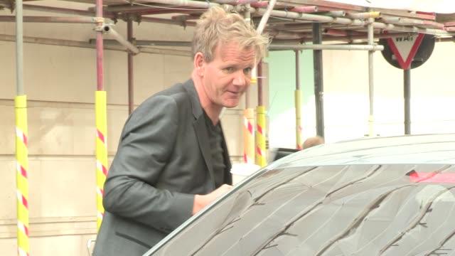 gordon ramsay at bbc radio on september 20 2012 in london england - gordon ramsay stock videos and b-roll footage