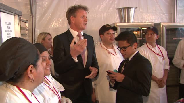 Gordon Ramsay at Elton John AIDS Foundation Presents 21st Annual Academy Awards Viewing Party Sponsored By Chopard Neuro Drinks And Wells Fargo on...