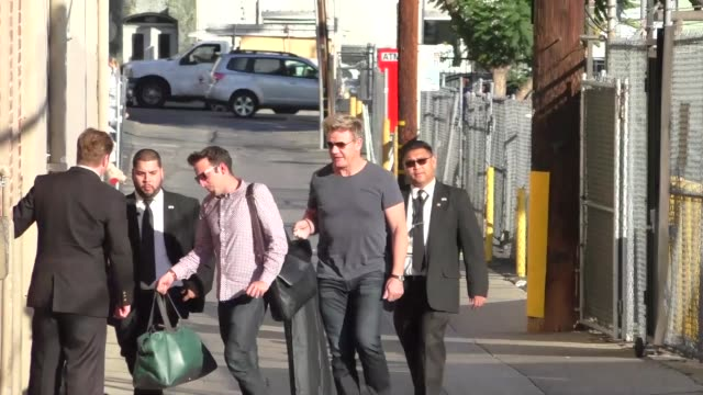 gordon ramsay outside jimmy kimmel live in hollywood in celebrity sightings in los angeles - gordon ramsay stock videos and b-roll footage