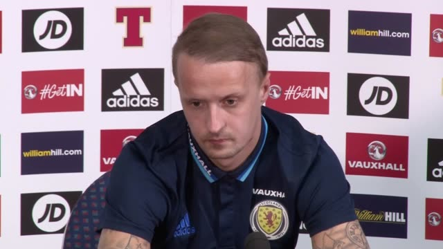 gordon strachan insists there will be no grey areas clouding scotland's world cup rescue plan when they face slovenia on sunday the scots' hopes of... - ゴードン ストラハン点の映像素材/bロール