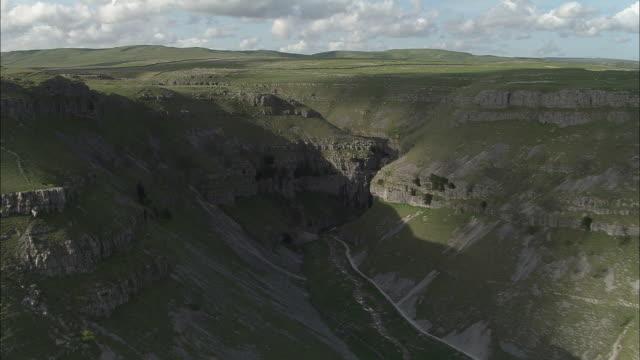 goredale scar - ravine stock videos & royalty-free footage