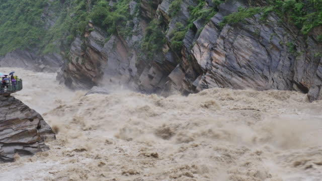 gorge flood - yunnan province stock videos and b-roll footage