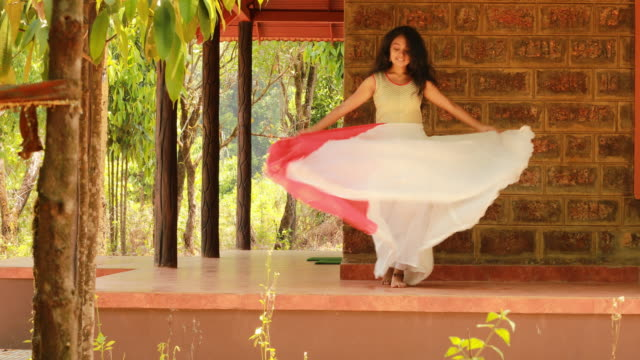 gorgeous female dancer - ethnicity stock videos & royalty-free footage