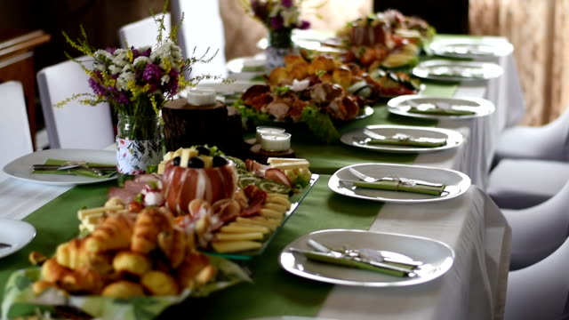 Gorgeous-looking wedding table