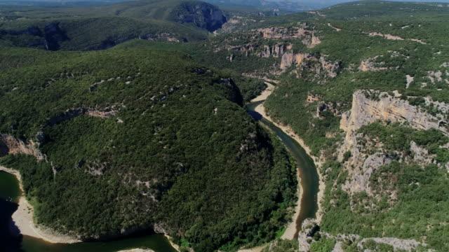 gorges de ardeche - 全景点の映像素材/bロール