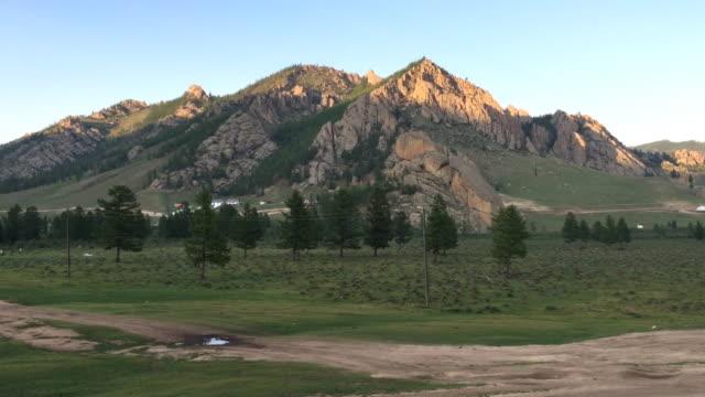 gorkhi-terelj national park mongolia - ulan bator stock videos & royalty-free footage
