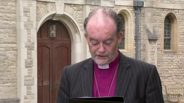 Report finds at least 456 patients died prematurely due to administration of opioids ENGLAND Hampshire Portsmouth EXT Bishop James Jones statement to...