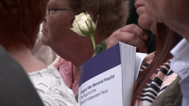 Report finds at least 456 patients died prematurely due to administration of opioids UK Portsmouth Gosport War Memorial Hospital independent report...