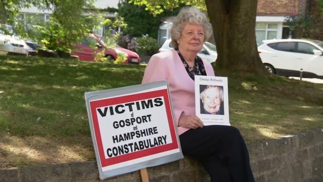 Report reveals catalogue of failings UK Gosport Hospital Independent Panel report Gillian Mackenzie interview ENGLAND Hampshire EXT Gillian Mackenzie...