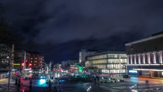 Gothenburg City Evening Time-lapse