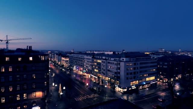 Gothenburg city evening