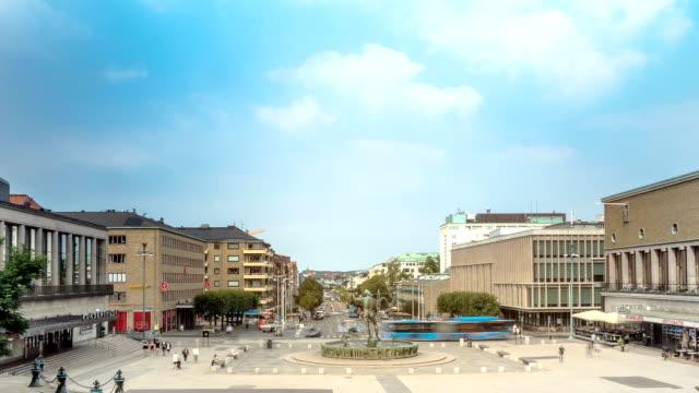 Gothenburg City Time Lapse Sweden
