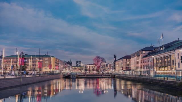 Gothenburg Day to Night Time Lapse