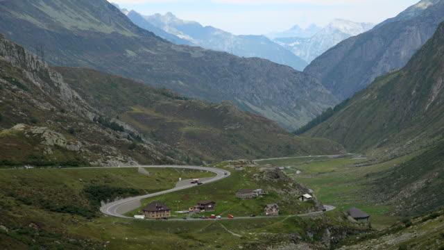 Gotthard Pass Road, Canton of Uri, Switzerland