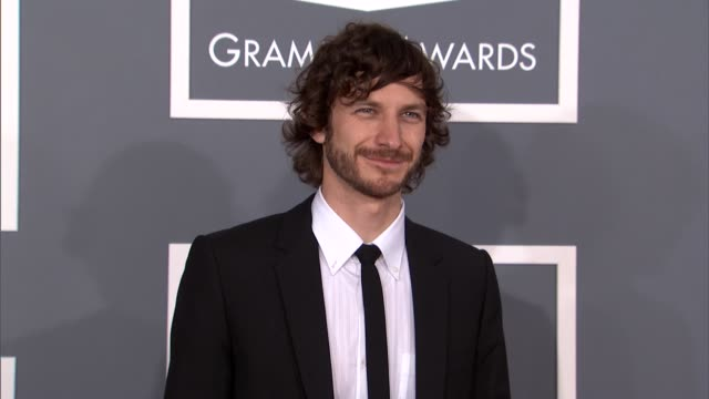 gotye at the 55th annual grammy awards arrivals in los angeles ca on 2/10/13 - grammy awards stock videos and b-roll footage