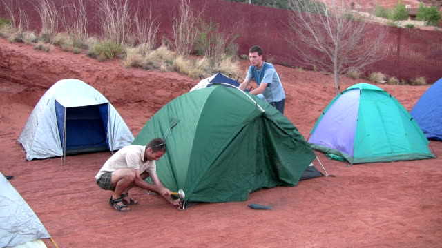 hd: goulding's campground - navajo reservation stock videos and b-roll footage