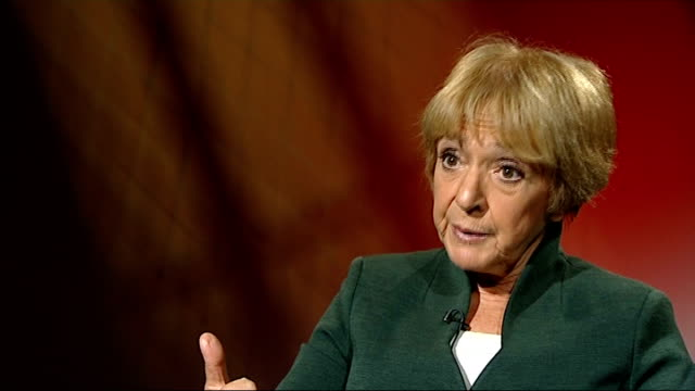 government accused of mismanaging rural superfast broadband scheme london margaret hodge mp interview sot - マーガレット・ホッジ点の映像素材/bロール