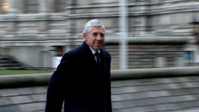 uk government agrees to pay libyan man over 2 million pounds to settle rendition case lib london jack straw mp along - jack straw stock videos & royalty-free footage